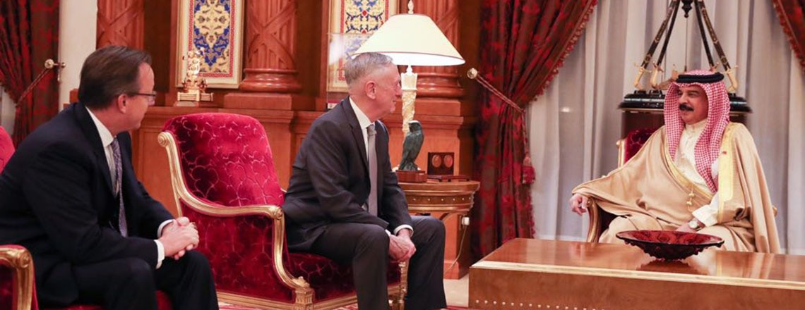Secretary of Defense Meeting with Bahrain King