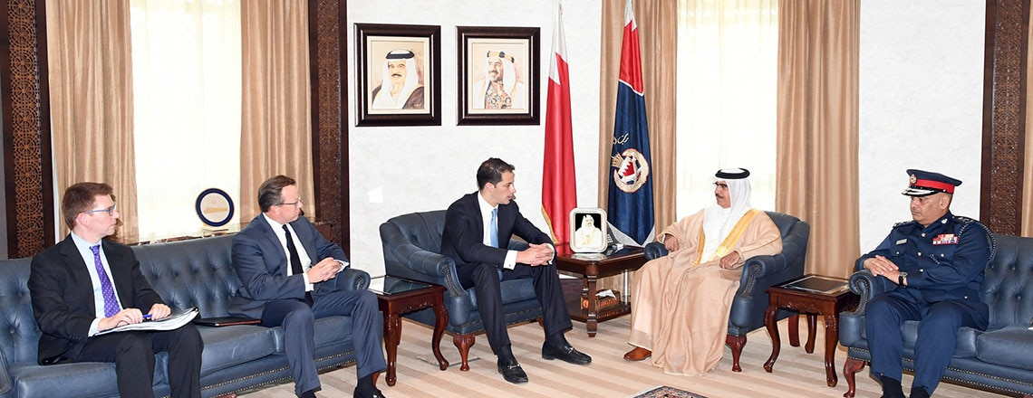 Deputy Assistant Secretary of State for Near Eastern Affairs Visits Bahrain