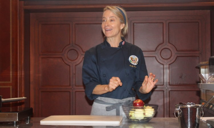 Chef Emily Luchetti Teaches her Desserts