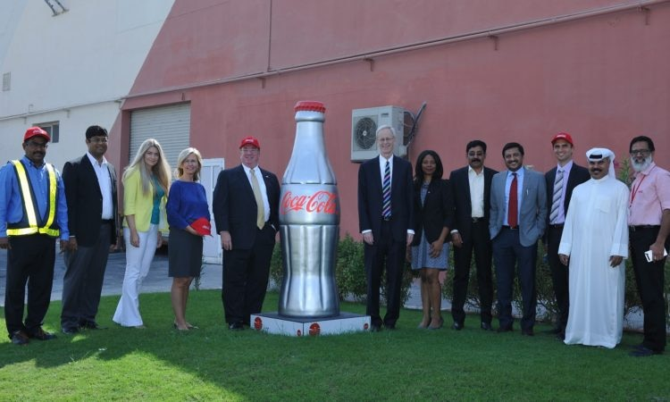 U.S. Ambassador visits Coca-Cola Bottling Facility in Bahrain