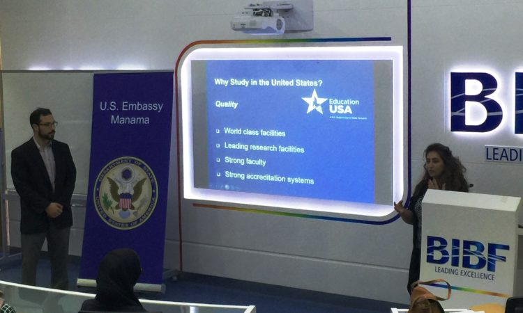 EducationUSA Information Session at BIBF