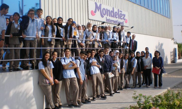 Al Raja School Tour of Mondelez Cheese and Tang Plant