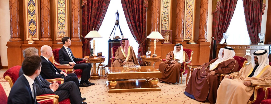 Meeting Between Administration Officials & King Hamad and Crown Prince